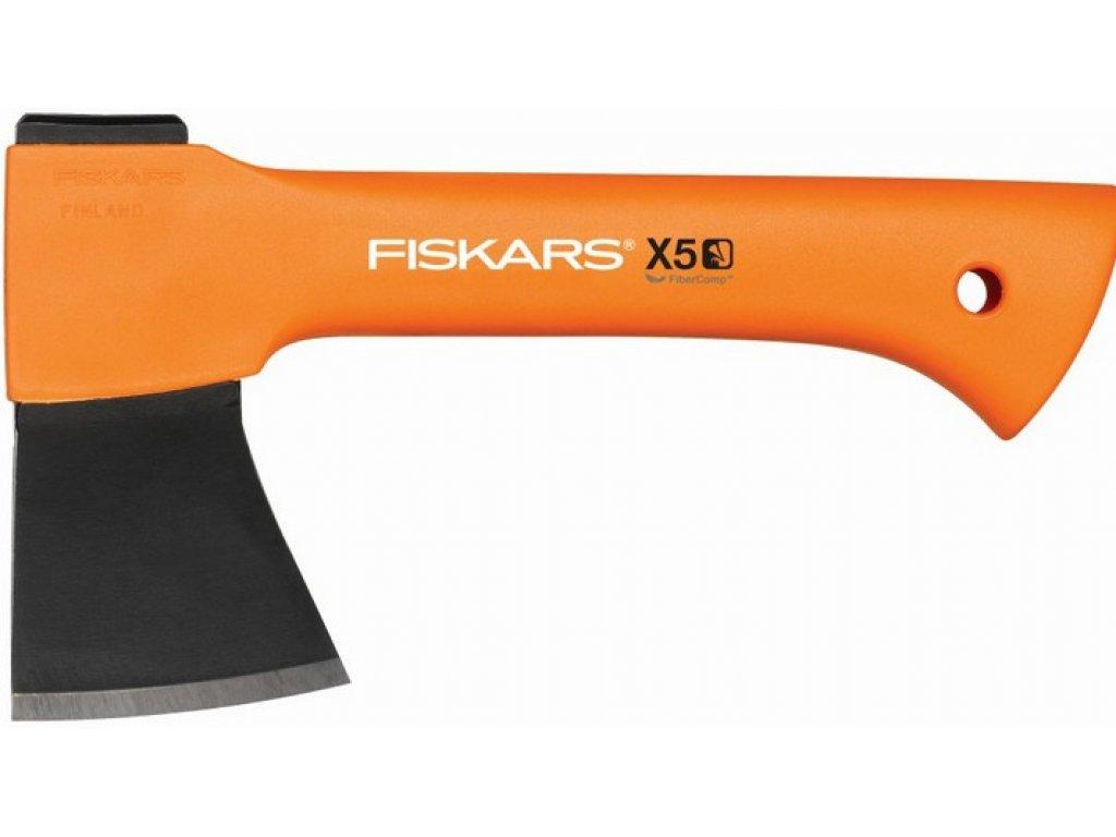 """FISKARS 121123 - Брадва за къмпинг, лов и туризъм """"X5 - XXS"""", с пластмасова кания"""