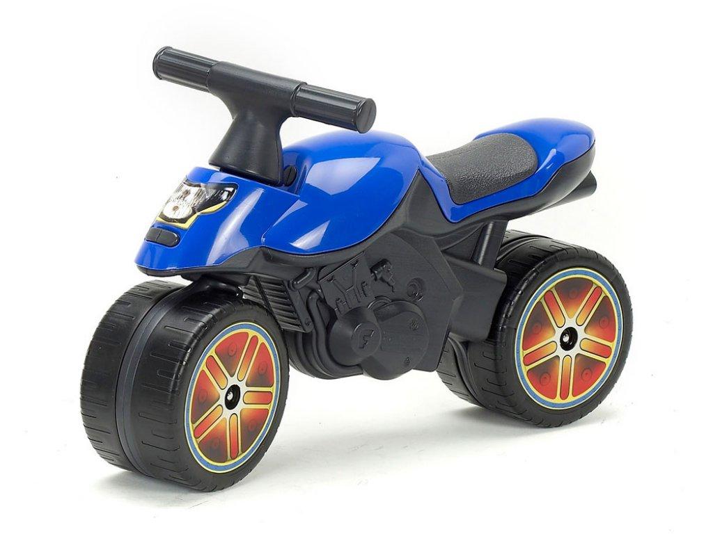 FALK – Детски мотор за балансиране, червен/син, (модел: 302009)