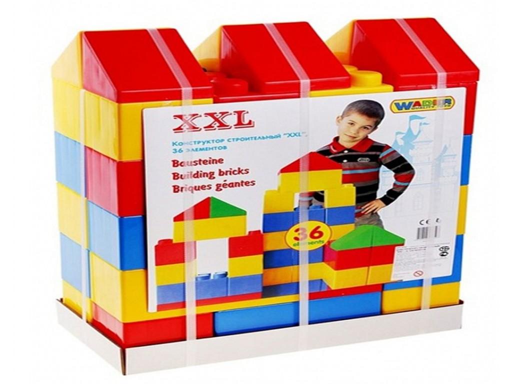 POLESIE – Големи строителни блокчета, 36 бр, (модел: 411031)