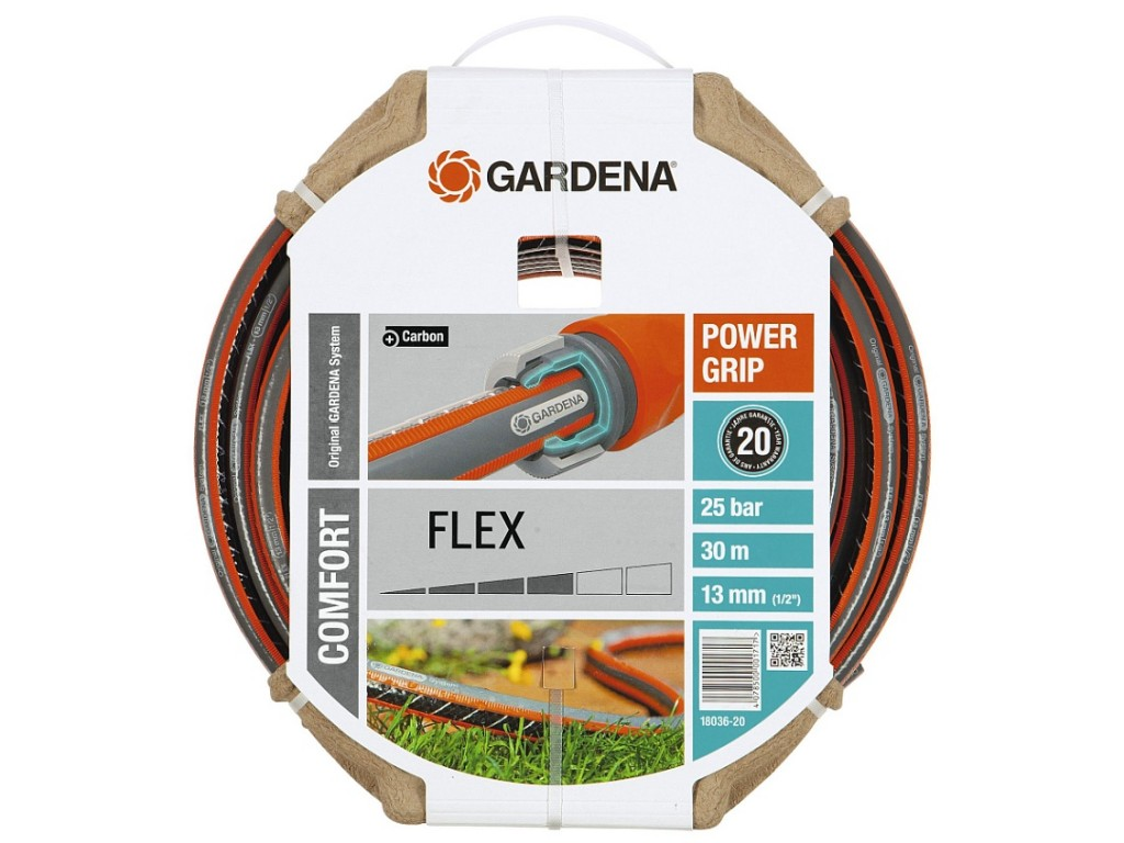"Градински маркуч Comfort Flex, 1/2"" x 30 m на GARDENA, (модел: 18036-20)"