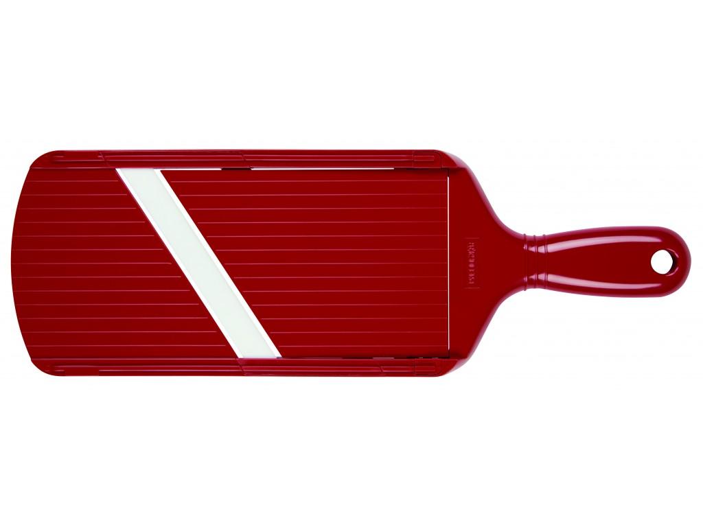 KYOCERA CSN - 202 RD - Ренде с керамично острие и регулиране дебелината на рязане, червено