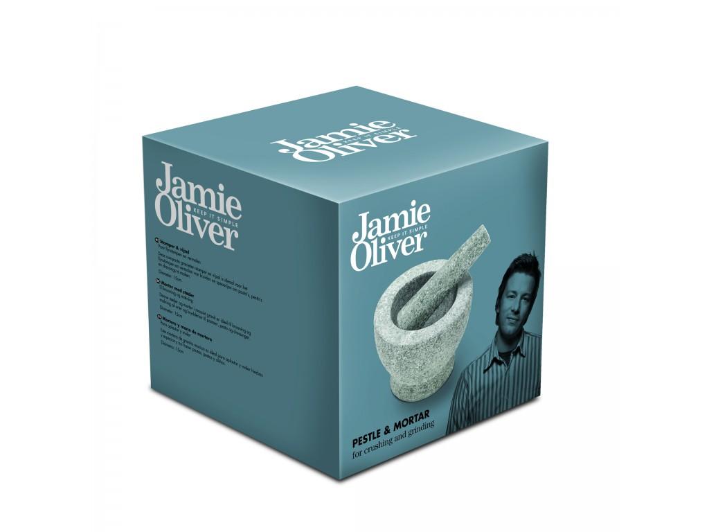 JAMIE OLIVER JC 5101 - Гранитен хаван, Диаметър: 16 cm