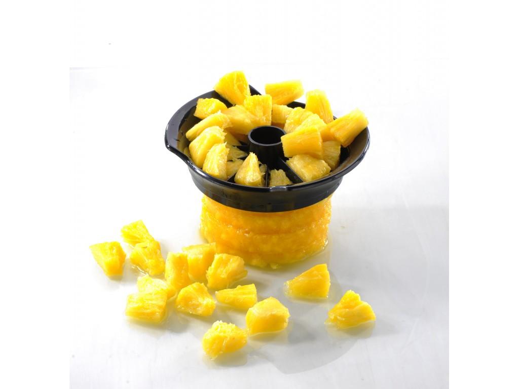 GEFU 13550 - Метална резачка за ананаси с контейнер