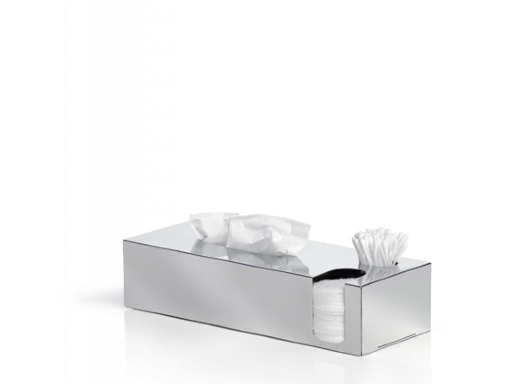 BLOMUS Кутия за салфетки, почистващи тампони и клечки за уши NEXIO - полирана