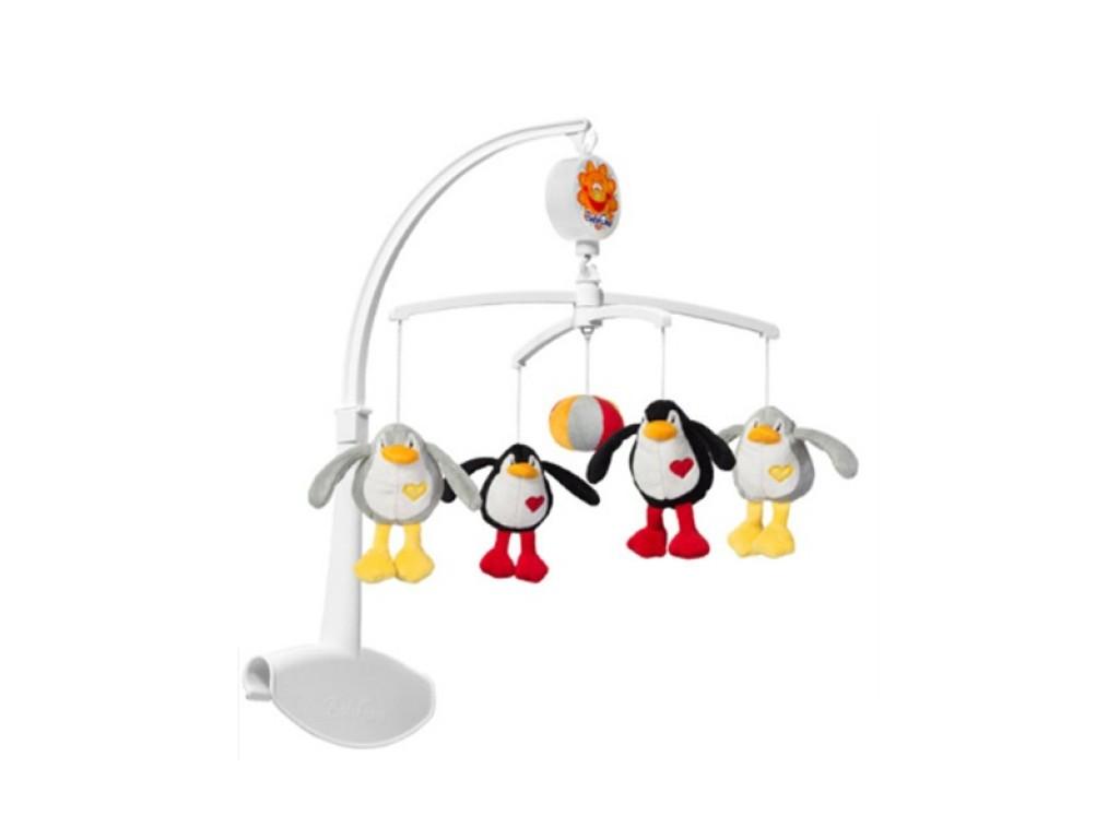 1370 Муз. въртележка пингвини
