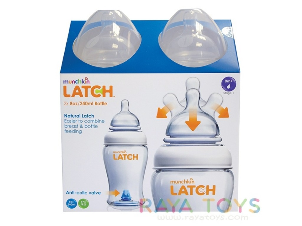 11630 Шише Latch 250ml 2бр.