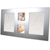 130011 Отпечатък Happy Hands Large frame Silver