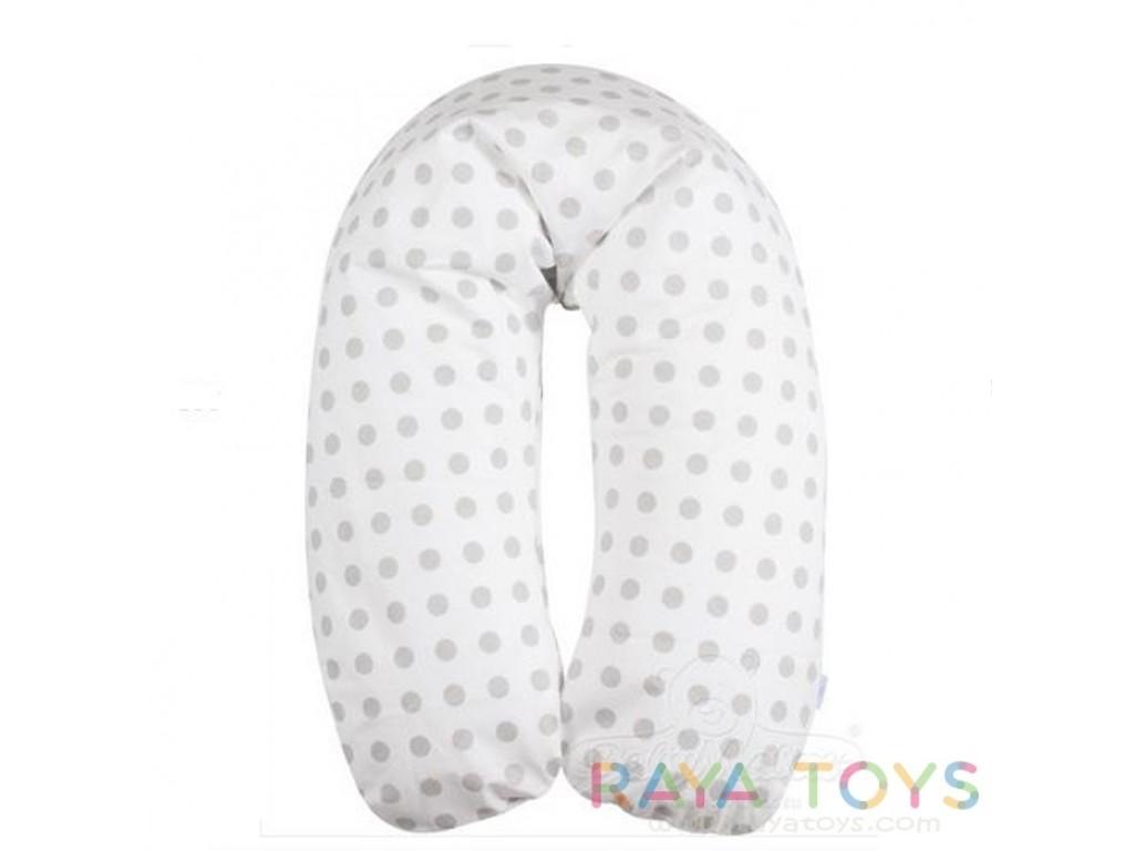 0045 Възглавница за кърмене Relax R01 сиви точки