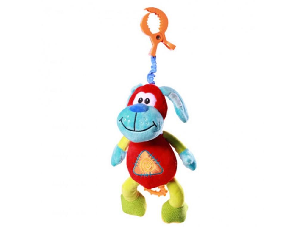 1141 Плюшена музикална играчка Смеещо се куче
