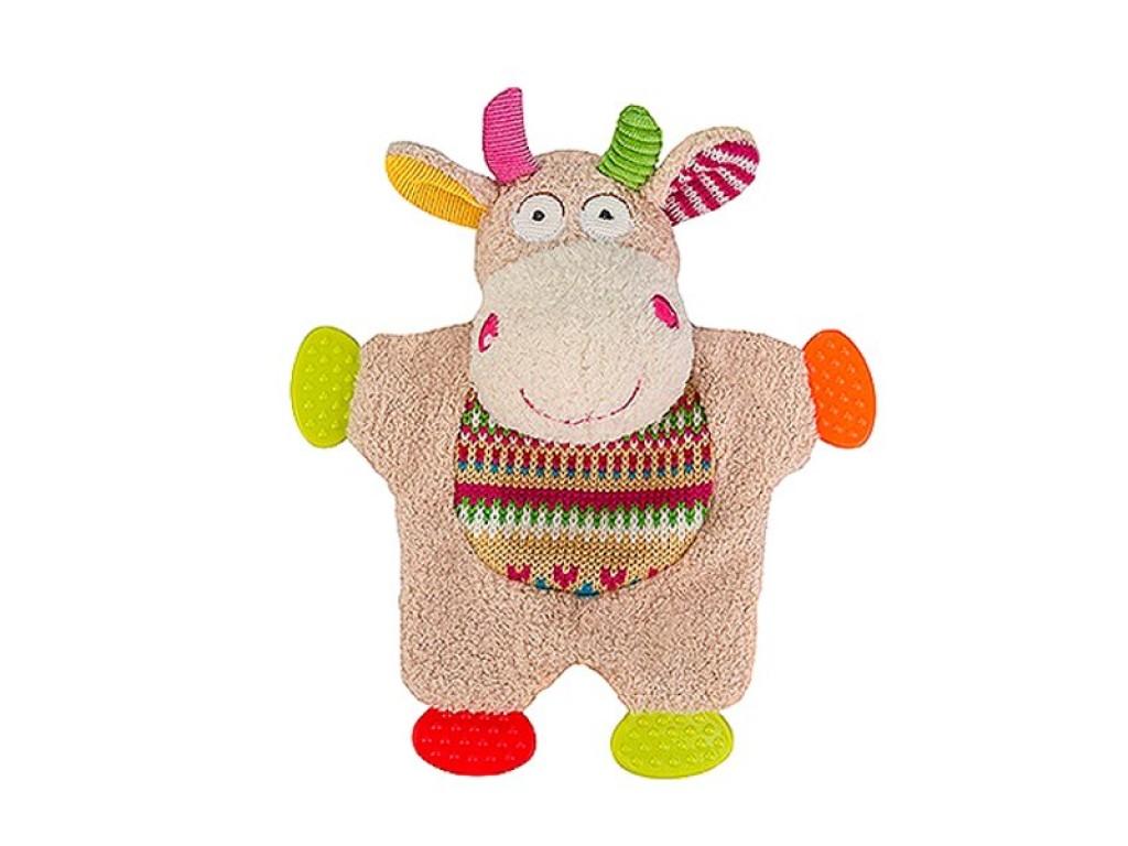 1243 Плюшена крава за гушкане Funny Cow