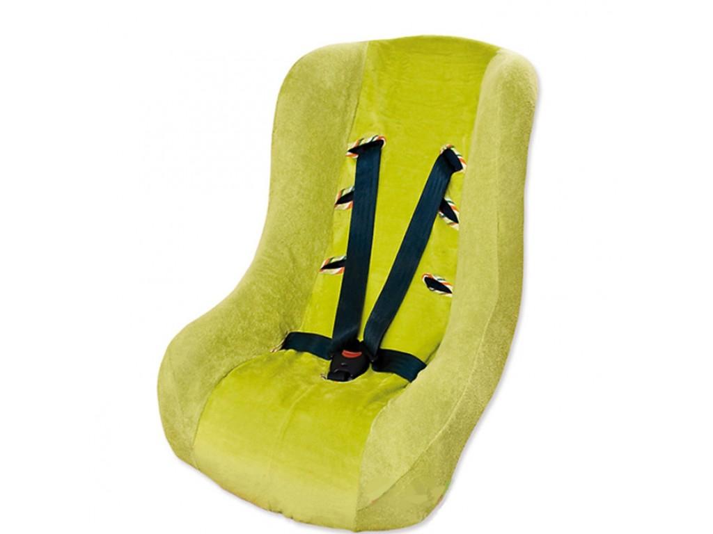 0153 Калъф за стол за кола зелен 52