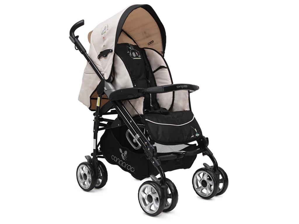 CANGAROO - Комбинирана детска количка Dayana, Зелена, 101243