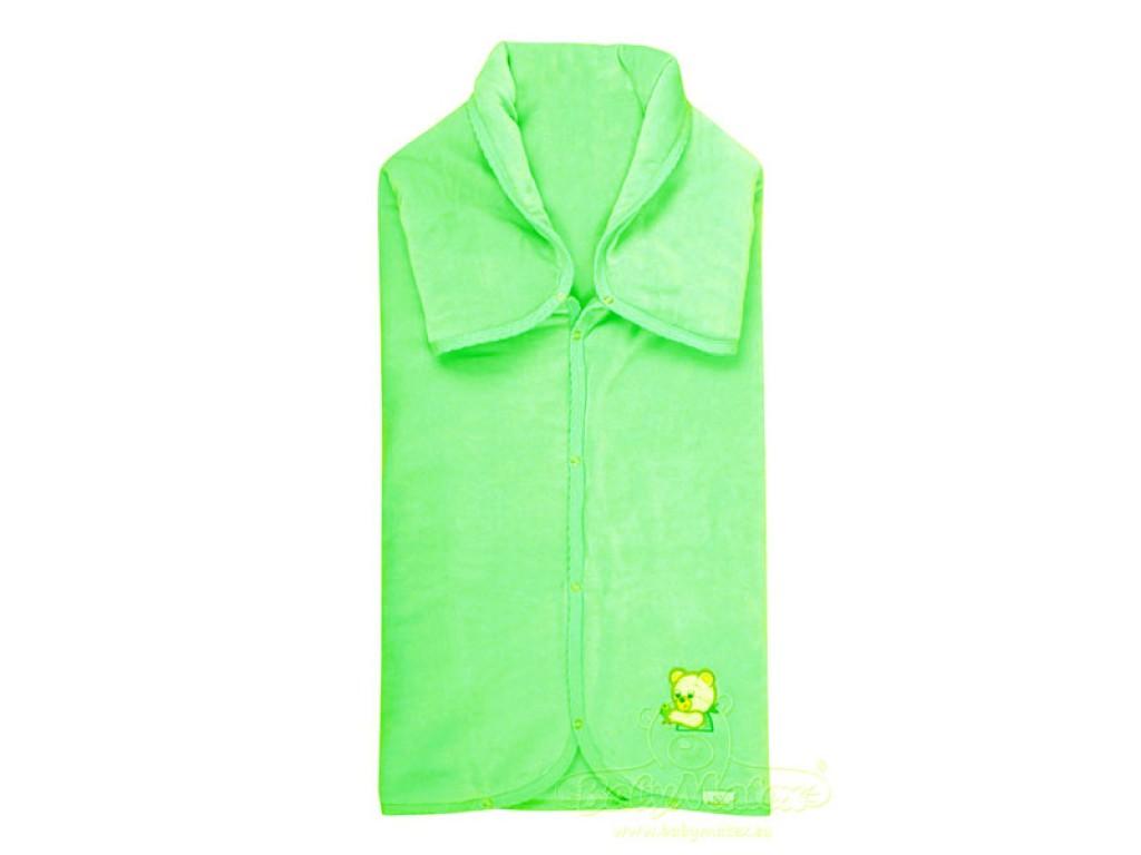 0094 Пелена порт-бебе Niki 90/90 зелен 52