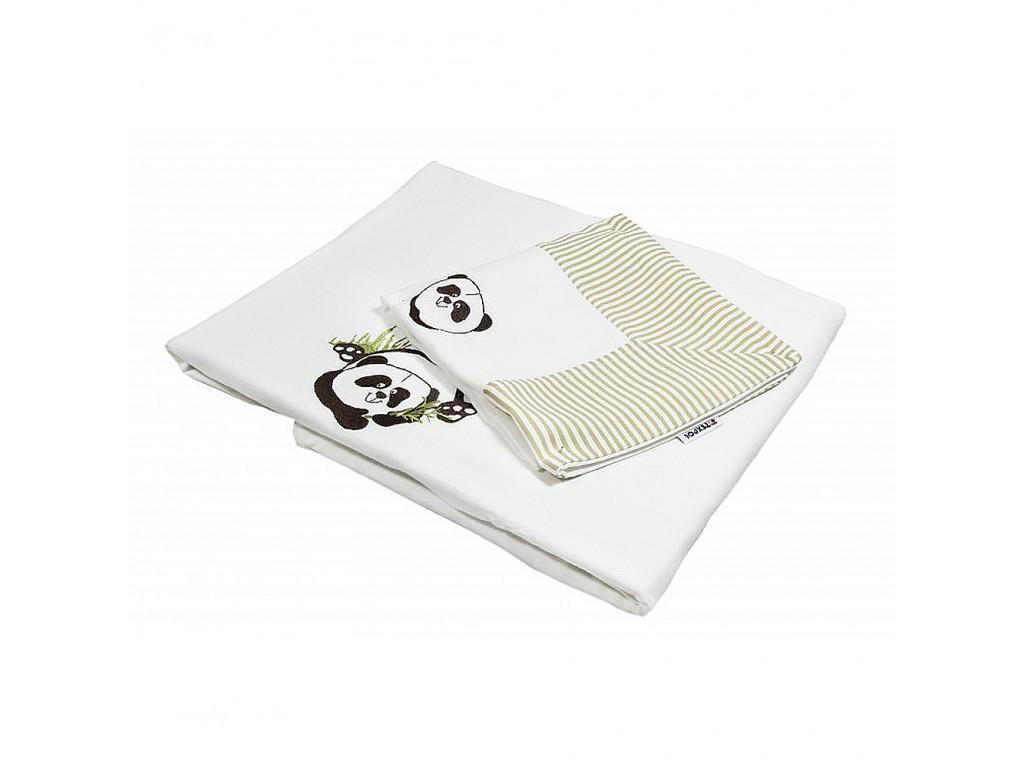 20405 Бамбуков комплект 3ч. 100/135