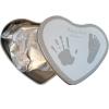 130001 Отпечатък Сърце сребрист