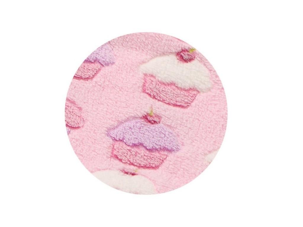 1403/01 Пелена релефна микрофибър 75/100 Кексче