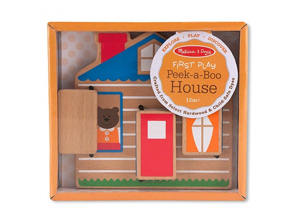 14034 Дървена къща-Къде е мечето?