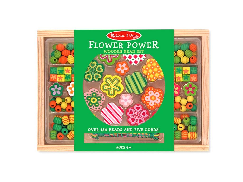 14178 Дървени бижута цветя