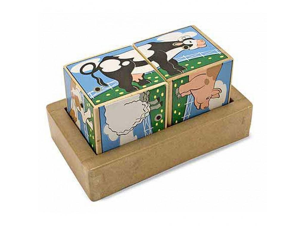 11196 Дървени музикални кубчета