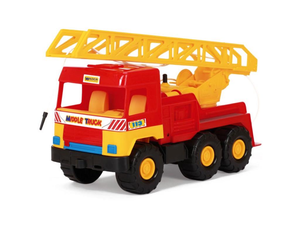 WADER - Камион пожарна - 32001D, 100484