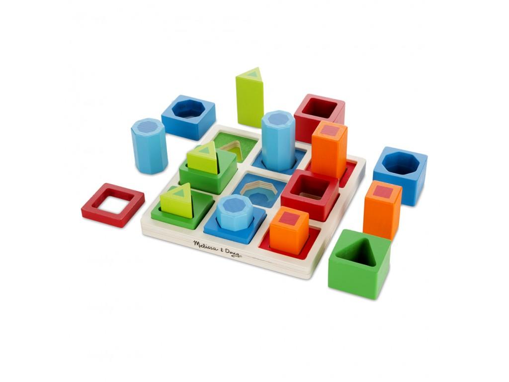 10582 Дървени форми и цветове