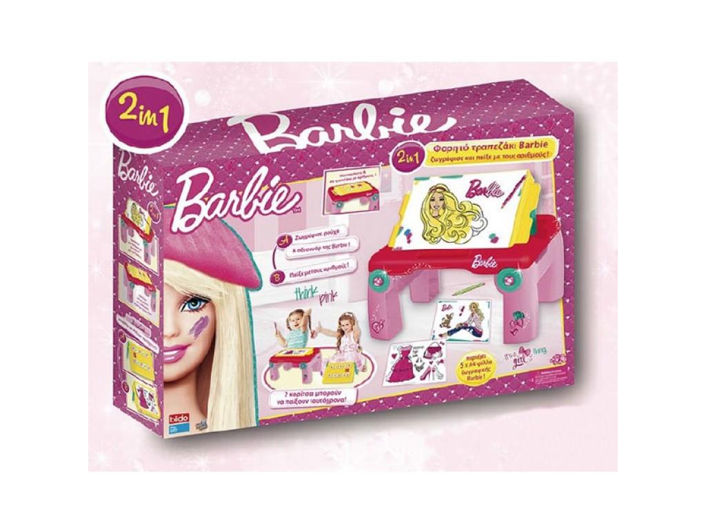 BILDO - Маса за рисуване Barbie - 2119, 100032