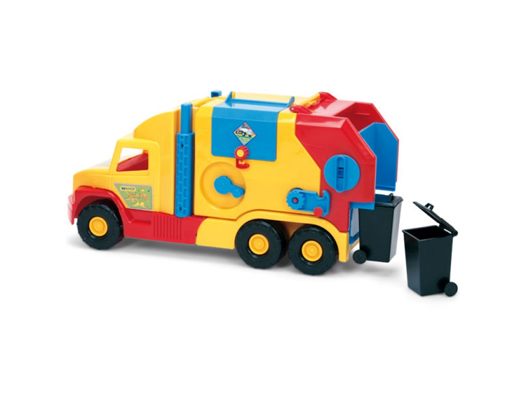 WADER - Super камионче за боклук - 36580, 100507