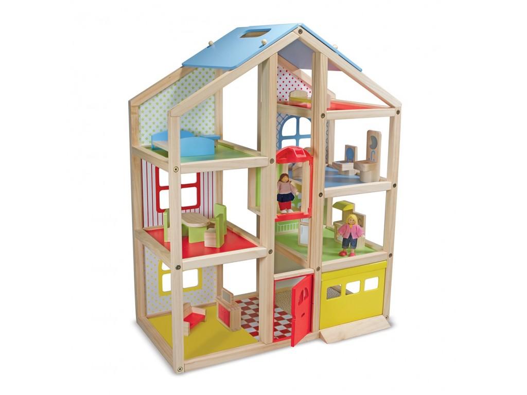 12462 Дървена къща с обзавеждане
