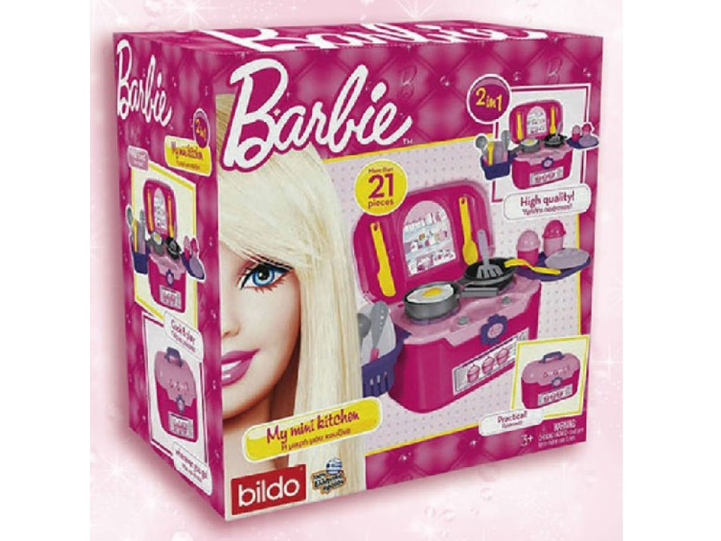 BILDO - Кухня в куфар Barbie - 2102, 100020