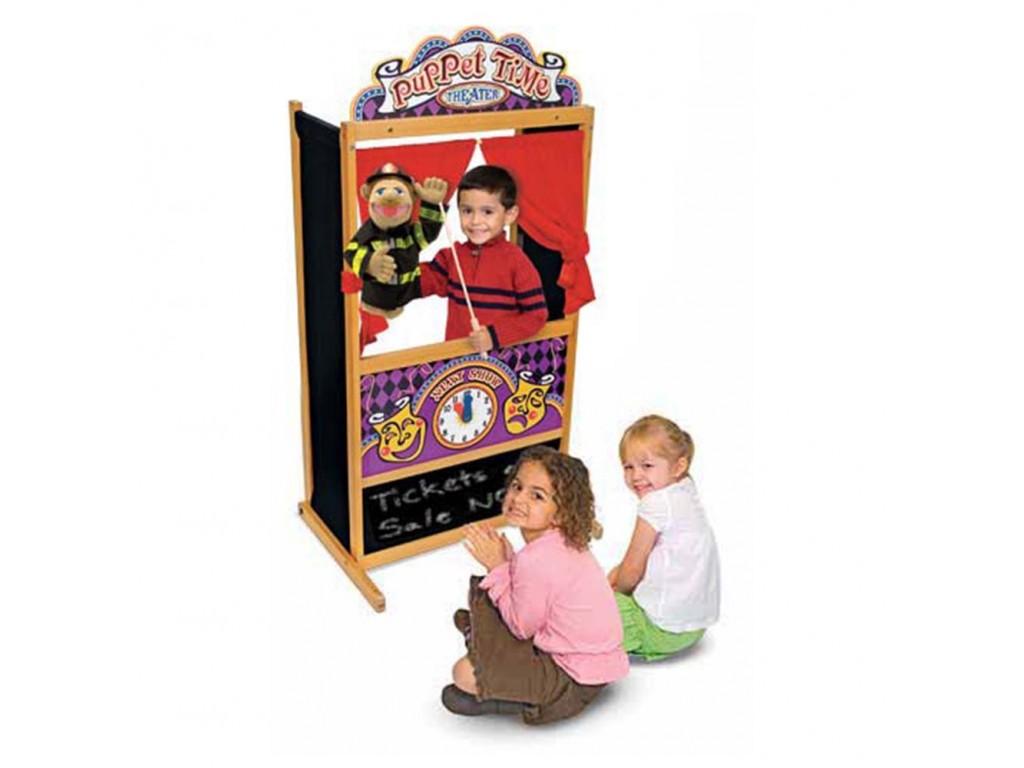 12530 Дървен куклен театър