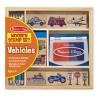 12409 Печати дървени превозни средства