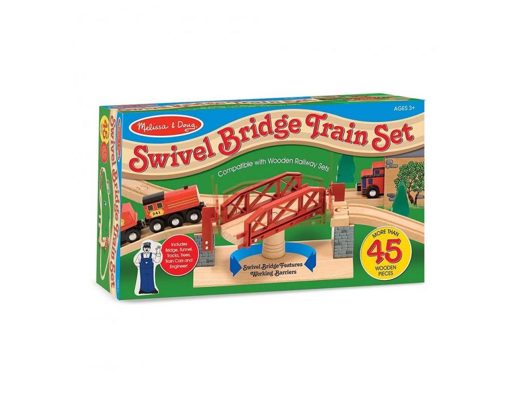 10704 Дървена влакова к-я с мост