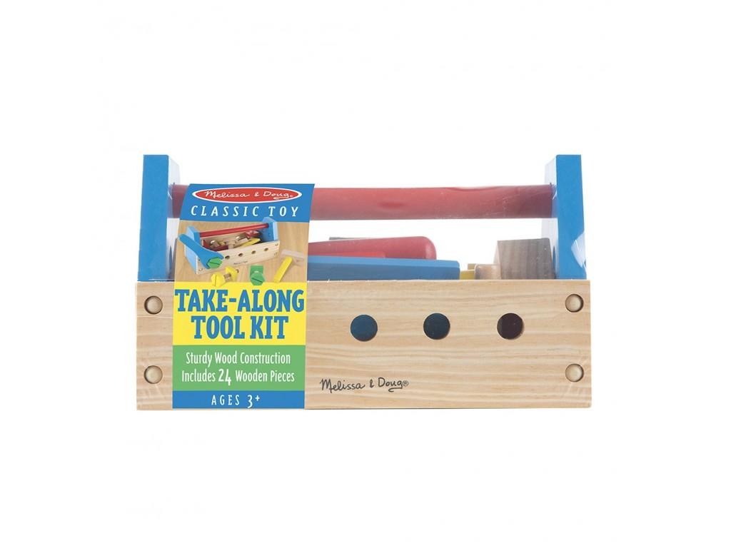 10494 Дървени инструменти в кутия