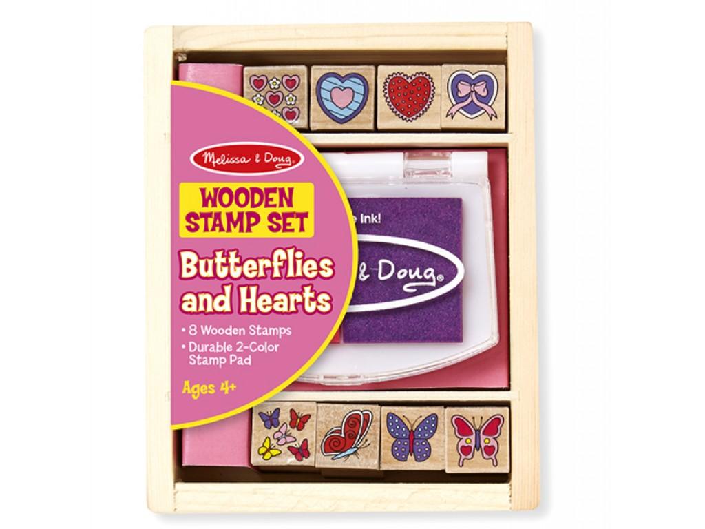 12415 Печати сърчица и пеперудки