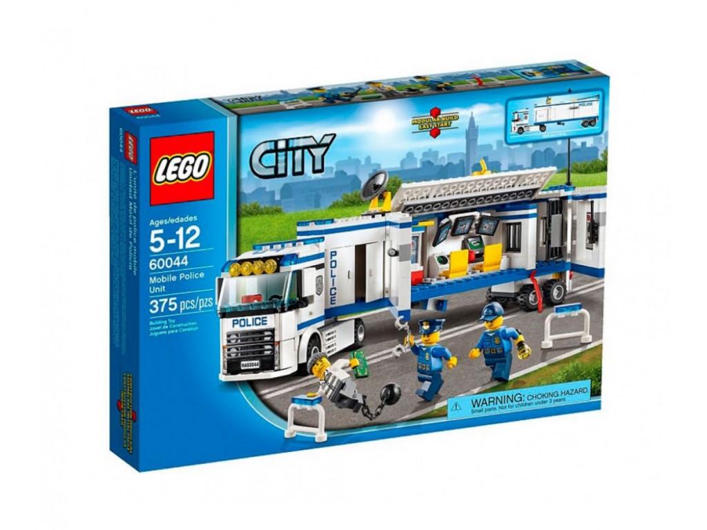 LEGO® City 60044 - Подвижен полицейски център