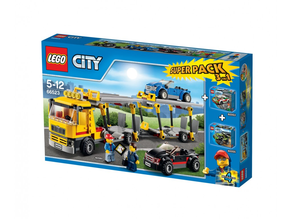 LEGO® City 66523 - Комплект 3 в 1 превозни средтства