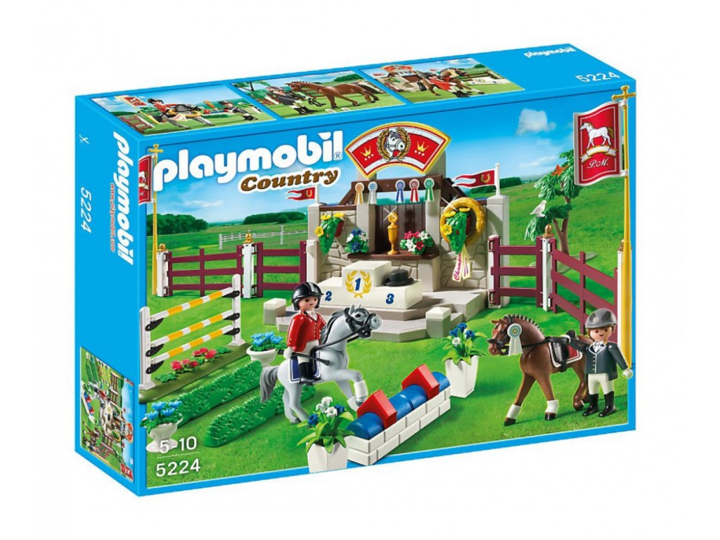 PLAYMOBIL Country - конно шоу