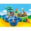 PLAYMOBIL 1-2-3 - кутия за игра зоопарк