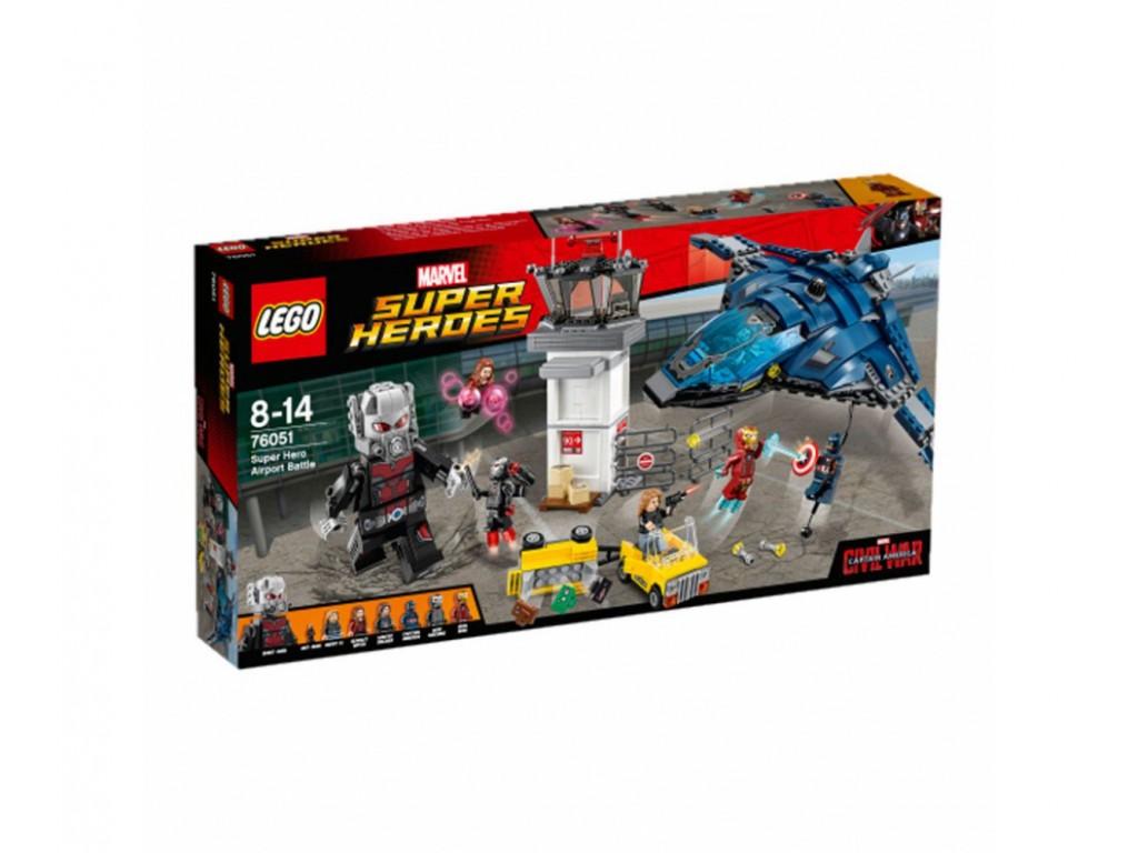 LEGO® Marvel Super Heroes 76051 - Битка на супергерои на летището