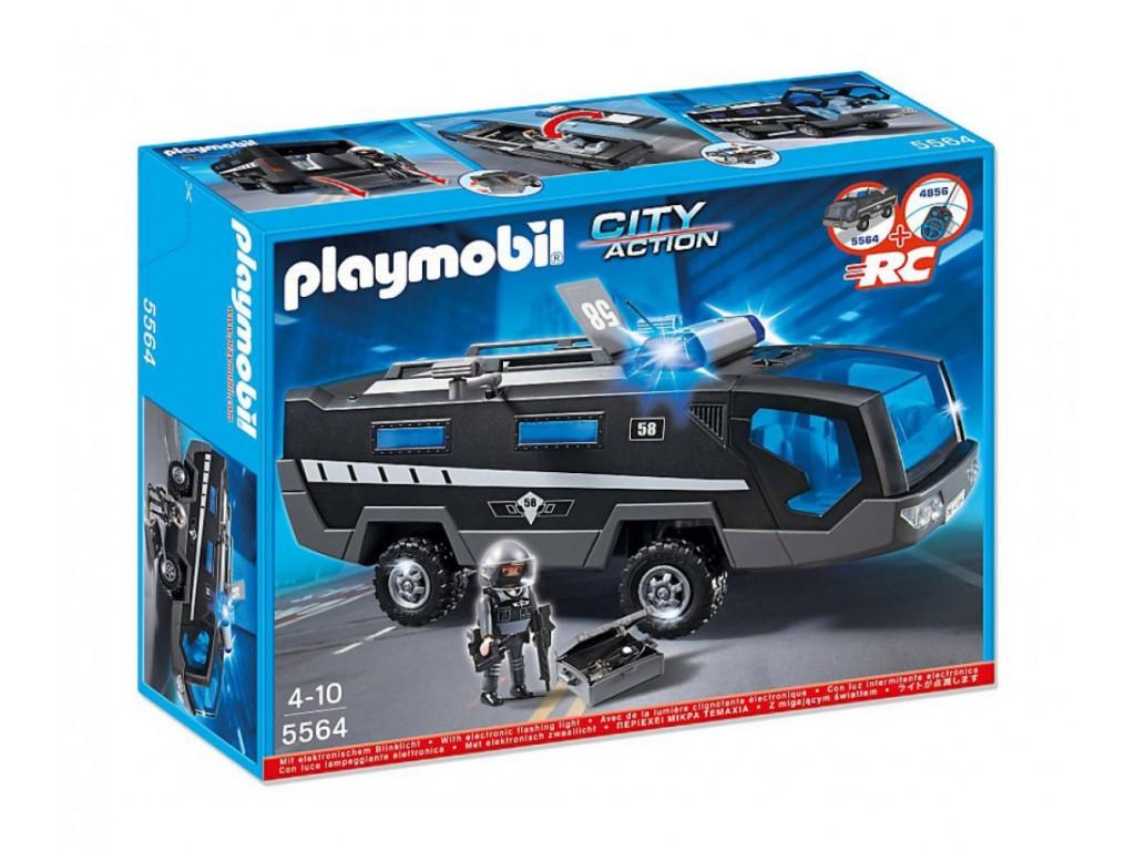 PLAYMOBIL City Action - кола на полицейските спец части